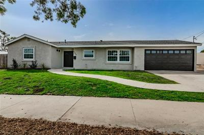Santee Single Family Home For Sale: 9356 Oakbourne Rd