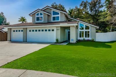 Single Family Home For Sale: 8864 Cambridge Ct