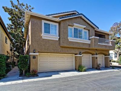 San Diego CA Townhouse For Sale: $645,000