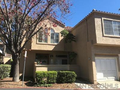 San Diego Townhouse For Sale: 11140 Portobelo Dr #1