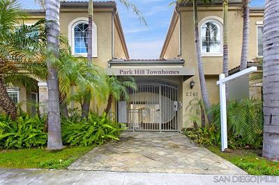 San Diego Townhouse For Sale: 2761 A St 503