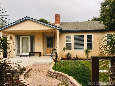 Coronado Multi Family 2-4 For Sale: 360-362 E Avenue