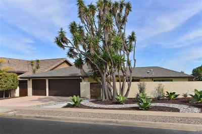 San Diego County Single Family Home For Sale: 5461 Bahia Ln