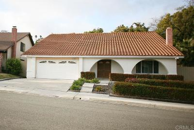 Oceanside Single Family Home For Sale: 3186 Brougham Ct