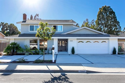 Carlsbad Single Family Home For Sale: 3085 Monroe
