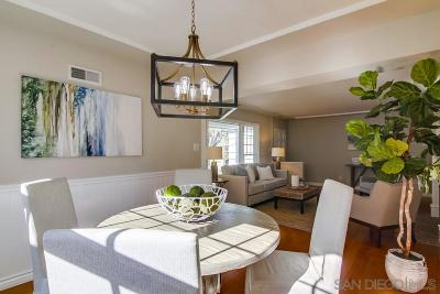 San Diego Single Family Home For Sale: 1669 Catalina Blvd