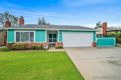 Single Family Home For Sale: 1726 Vulcan St