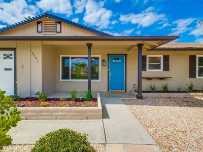 San Diego Single Family Home For Sale: 16402 Roca Dr