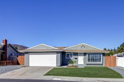 Single Family Home For Sale: 10042 El Nopal