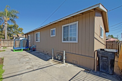 San Diego Multi Family 2-4 For Sale: 1825 Vesta St