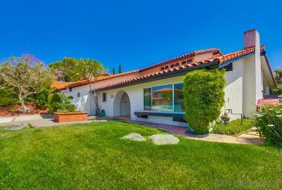 San Diego Single Family Home For Sale: 6331 Camino Corto