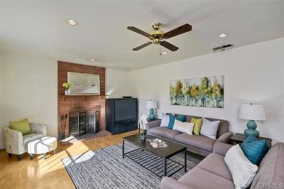 Vista Single Family Home For Sale: 1707 Panorama Road