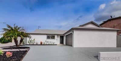 San Diego Single Family Home For Sale: 4702 Mount Harris Dr