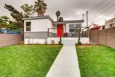 San Diego Multi Family 2-4 For Sale: 4750-52 E. Mountain View Dr.