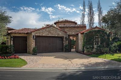 San Diego County Single Family Home For Sale: 6973 Corte Spagna