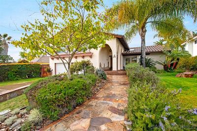 San Diego Single Family Home For Sale: 6354 Lake Lomond Dr
