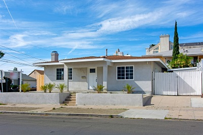 Hillcrest, Hillcrest North Park, Hillcrest/Balboa Park, Hillcrest/Bankers Hill, Hillcrest/Mission Hills, Hillcrest/University Heights Single Family Home For Sale: 130 W Lewis St