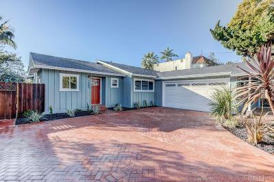 Encinitas Single Family Home For Sale: 1080 Balour Dr