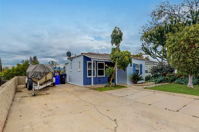 San Diego Single Family Home For Sale: 2545 44th Street