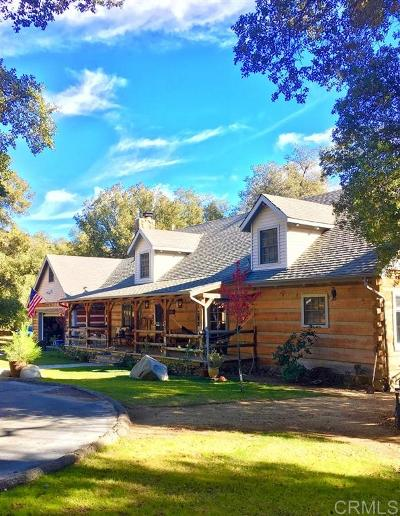Single Family Home For Sale: 26658 San Felipe Rd
