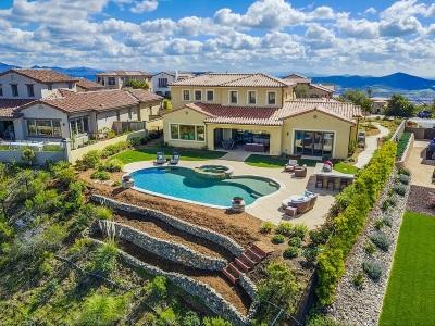 San Diego County Single Family Home For Sale: 8772 Avenida Mirador