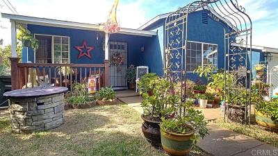 Single Family Home For Sale: 1820 N Ave.