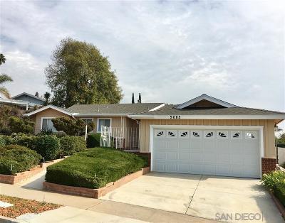 Del Cerro, Del Cerro Heights, Del Cerro Highlands, Del Cerro Terrace Single Family Home For Sale: 5685 Regis Ave