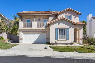 Single Family Home For Sale: 6034 Paseo Alameda