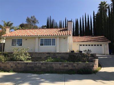 Bonsall CA Single Family Home For Sale: $545,000