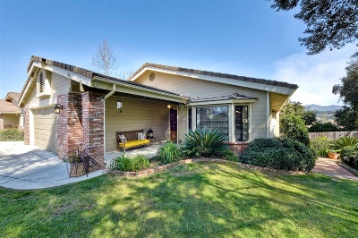Vista Single Family Home Back On Market: 1221 Sandra Circle