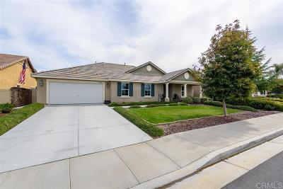 Riverside County Single Family Home For Sale: 31750 Victoria Pl