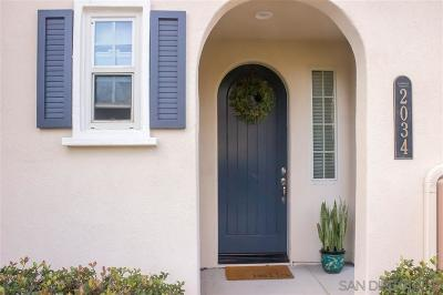 San Marcos Townhouse For Sale: 2034 Silverado St