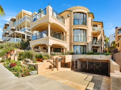 San Diego County Attached For Sale: 353 Coast Blvd South