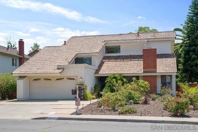 Single Family Home For Sale: 17723 Aguamiel Rd