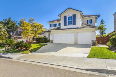 Carlsbad Single Family Home For Sale: 3903 Stoneridge Rd.