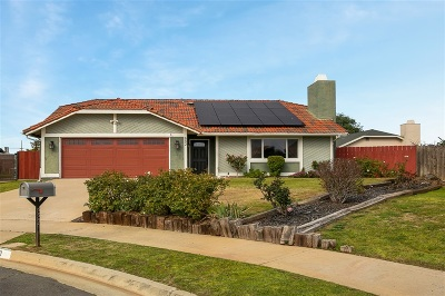 Escondido Single Family Home For Sale: 882 Oleander Pl