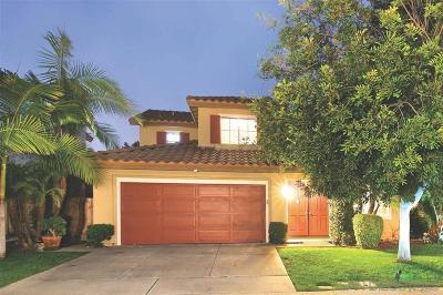 San Marcos Single Family Home Pending: 1233 Calle Fantasia