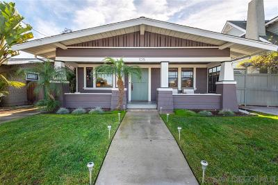 Mission Hills Single Family Home For Sale: 1015 Hunter St