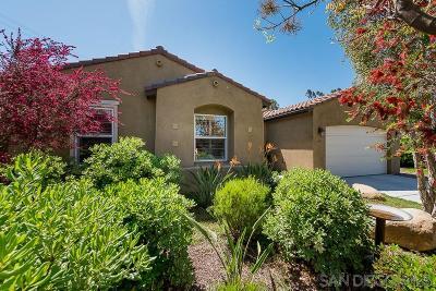 Santee Single Family Home For Sale: 1697 Los Senderos