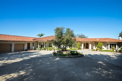 San Diego Single Family Home For Sale: 12927 Guacamayo Court