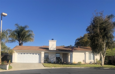 Vista Single Family Home For Sale: 2101 Bolero Ln