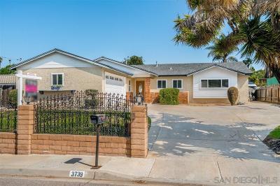 Bonita Single Family Home For Sale: 3739 Duffy Way