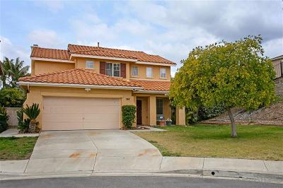 San Marcos Single Family Home For Sale: 748 Corte Cristal