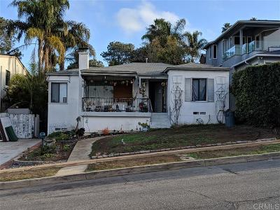 San Diego Single Family Home Pending: 4640 Orchard Ave