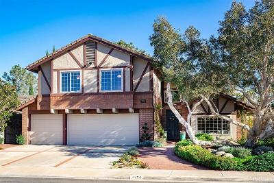 Single Family Home For Sale: 3724 Newcrest Point