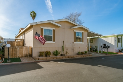 Poway Mobile/Manufactured For Sale: 12824 Granada Dr #322