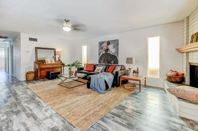 Single Family Home For Sale: 7417 Cowles Mountain Blvd