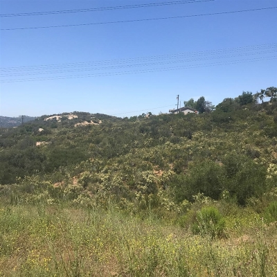 Valley Center Residential Lots & Land For Sale: Wilkes Rd