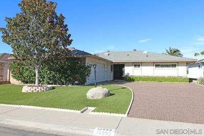 Single Family Home For Sale: 12092 Calle De Maria