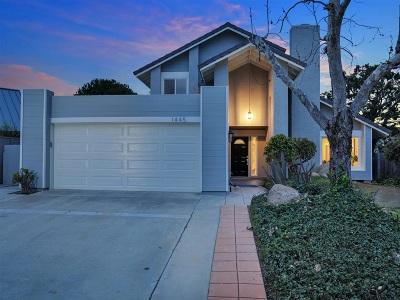 Encinitas Single Family Home For Sale: 1445 Elva Ct